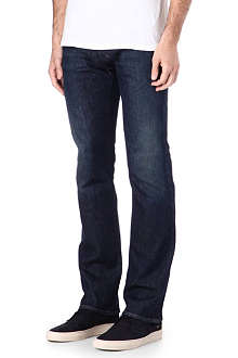 ARMANI JEANS J08 slim-fit straight jeans