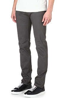 ARMANI JEANS Brushed slim-fit jeans