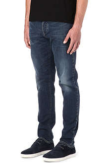 ARMANI JEANS Selvedge denim detail jeans