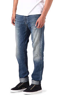 ARMANI JEANS Low crotch anti-fit jeans
