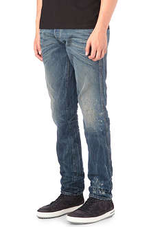 ARMANI JEANS Limited Anti-Fit Rip straight jeans