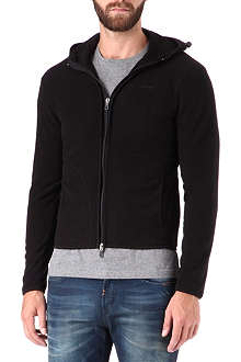 ARMANI JEANS Zip-through fleece