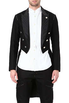 ARMANI JEANS Denim tailcoat jacket