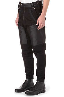 ARMANI JEANS Loose-fit tapered jeans