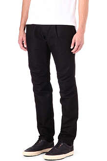 ARMANI JEANS Pleated knee detail trousers