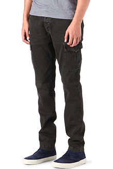 ARMANI JEANS Cargo slim-fit tapered jeans
