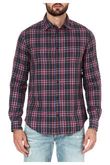 ARMANI JEANS Slim-fit checked shirt