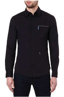 ARMANI JEANS Piping-detail shirt