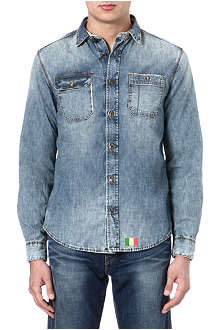 ARMANI JEANS Denim jean shirt