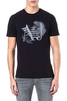 ARMANI JEANS Eagle cloud print t-shirt