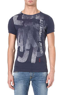 ARMANI JEANS Spray logo t-shirt