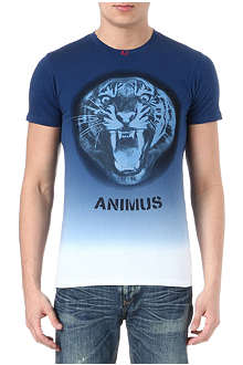 ARMANI JEANS Tiger face t-shirt