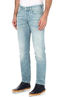 ARMANI JEANS J04 slim-fit tapered jeans