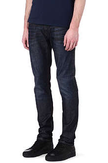 ARMANI JEANS J10 extra slim-fit tapered jeans