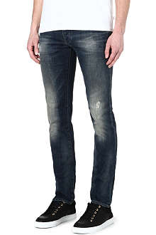 ARMANI JEANS Slim-fit tapered jeans