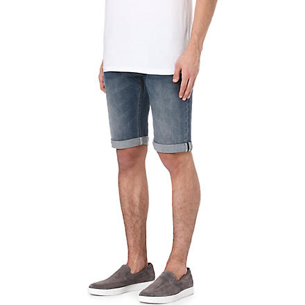 ARMANI JEANS Denim shorts (Blue
