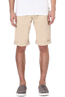 ARMANI JEANS Cotton-twill shorts
