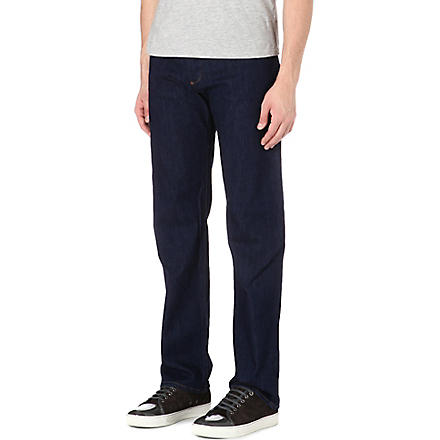 ARMANI JEANS J21 regular-fit straight jeans (Indigo