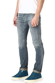 ARMANI JEANS J06 slim-fit tapered jeans