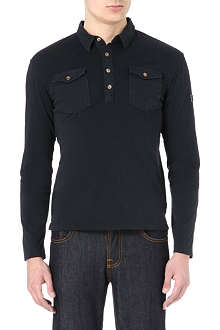 ARMANI JEANS Patch-pocket polo shirt