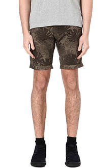 ARMANI JEANS Camouflage patterned shorts