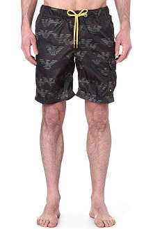 ARMANI JEANS Eagle swim shorts