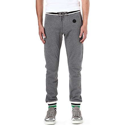 ARMANI JEANS Striped jogging bottoms (Grey