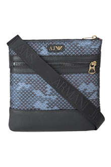 ARMANI JEANS Eagle-print small bag