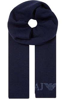 ARMANI JEANS Logo scarf