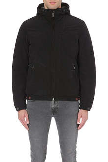 ARMANI JEANS Padded zip-up coat