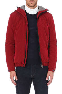 ARMANI JEANS Technical zip-through jacket