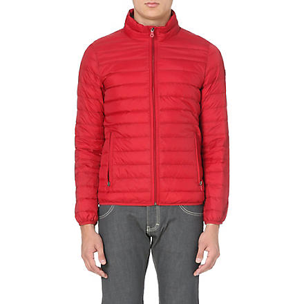 ARMANI JEANS Down quilted jacket (Red/blue