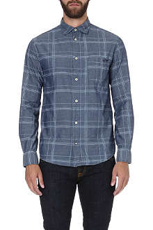 ARMANI JEANS Check cotton shirt
