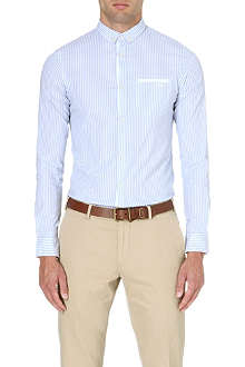 ARMANI JEANS Striped extra slim-fit shirt