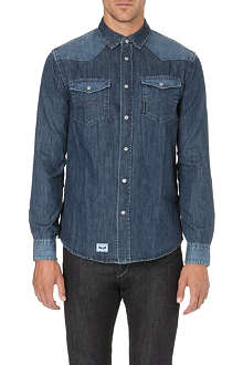 ARMANI JEANS Denim shirt
