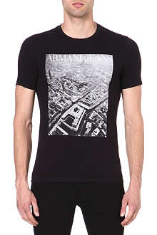 ARMANI JEANS Birds eye view t-shirt