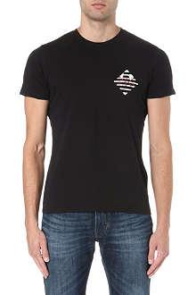 ARMANI JEANS Small logo t-shirt