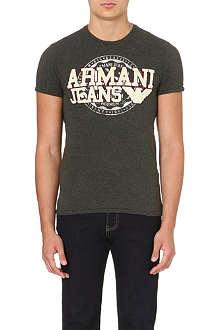 ARMANI JEANS Appliqué logo t-shirt