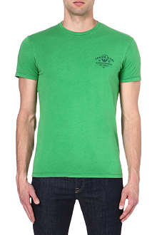 ARMANI JEANS Logo cotton t-shirt