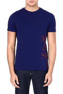 ARMANI JEANS Side logo t-shirt