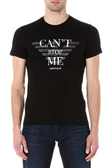 ARMANI JEANS Can't Stop Me t-shirt