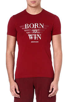 ARMANI JEANS Born To Win t-shirt