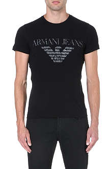 ARMANI JEANS Eagle-print t-shirt
