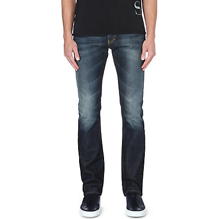 ARMANI JEANS Regular-fit straight jeans (Blue