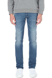 ARMANI JEANS J23 slim-fit tapered jeans
