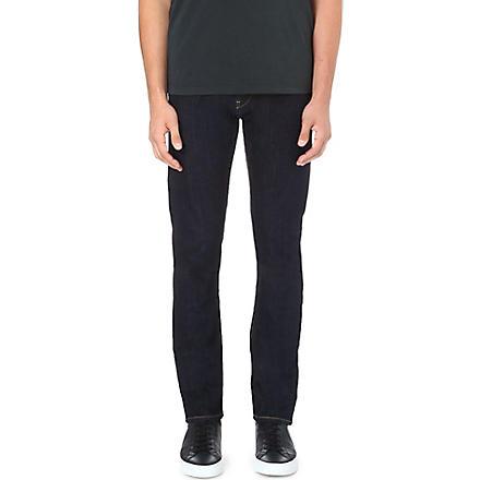 ARMANI JEANS Anti-fit tapered jeans (Indigo