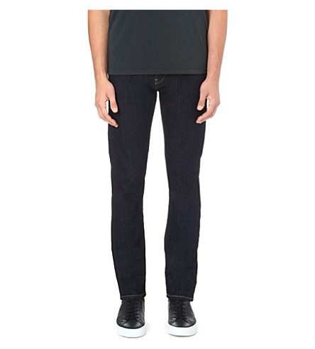 ARMANI JEANS Anti-fit tapered jeans (Indigo