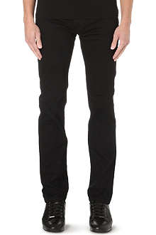 ARMANI JEANS Slim-fit overdyed jeans
