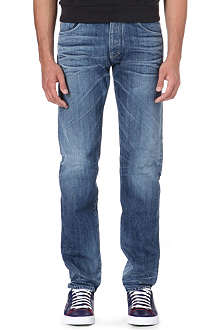 ARMANI JEANS Made in Italy slim-fit straight leg jeans