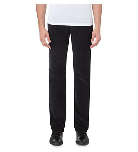 ARMANI JEANS J45 corduroy trousers (Blue